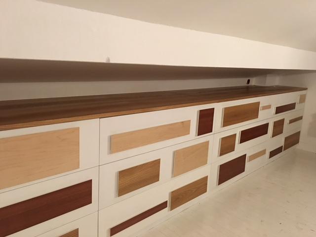 création d'un meuble de rangement